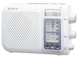 SONY TV(1ch-12ch)/FM/AMポータブルラジオ ICF-S75V